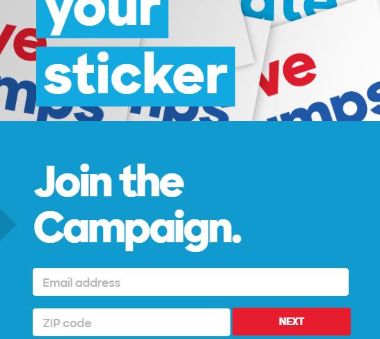 formulario_de_suscripcion_email_marketing_hillary_clinton